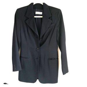 Dolce Gabbana Navy Blue Blazer Euro size 42